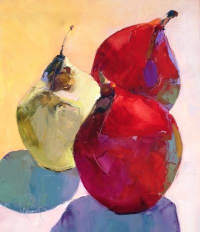 Pears 30x36 CANVAS