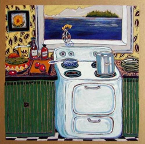 Cottage Kitchen 19x19 PAPER