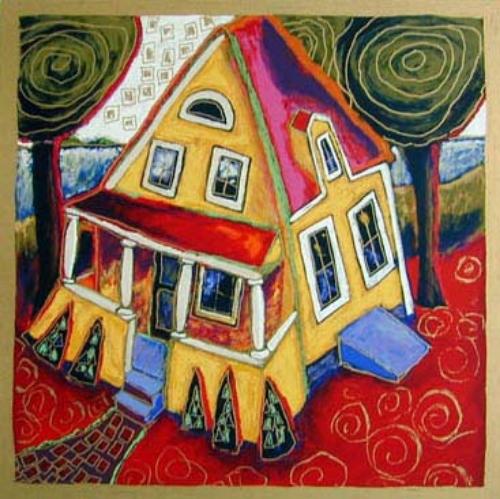 Evan's House 20x20 PAPER