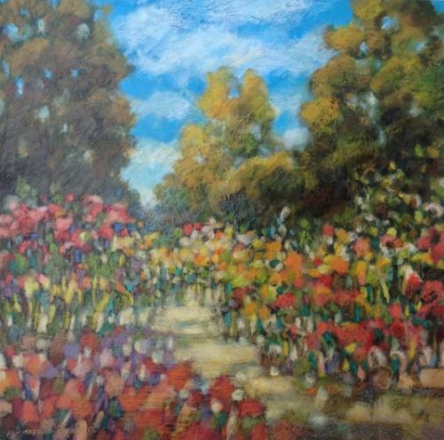 13610 Morning Garden III 22x22 PAPER