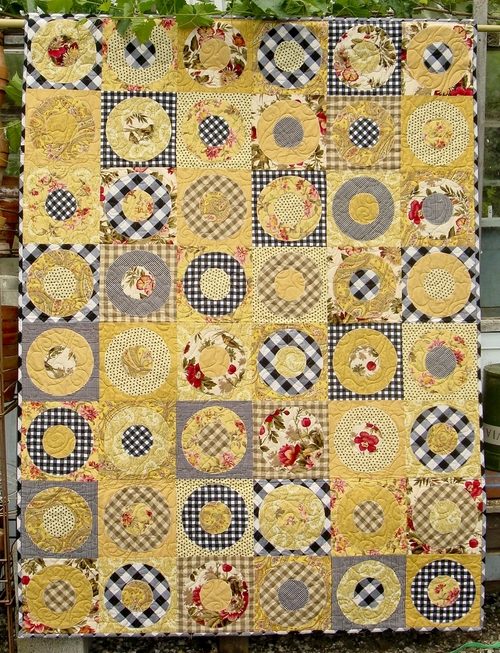 Full Circle Quilt Pattern Busy Bee Quilt Designs