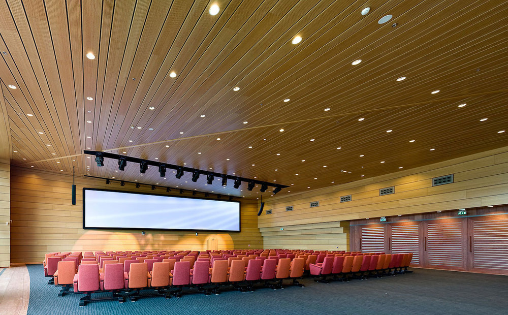 Auditoria Acoustic Wood By Eomac