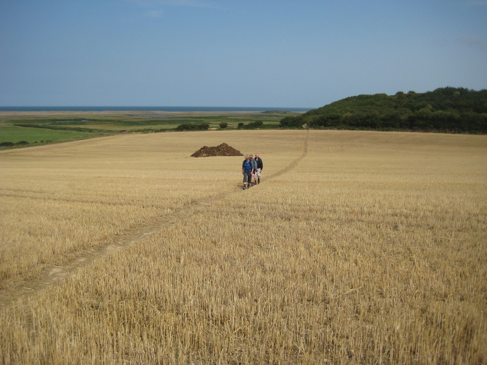 Walking along the Suffolk Coast AONB