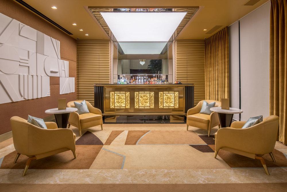 Waldorf Astoria Beverly Hills Lobby Bar