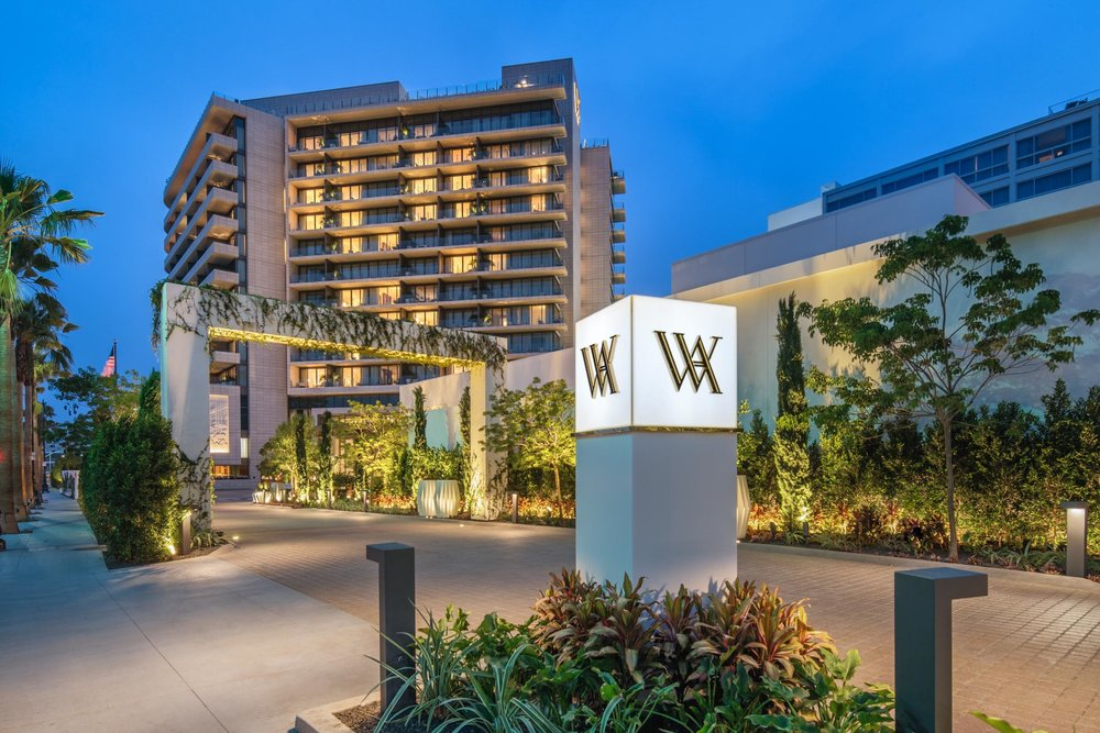 Waldorf Astoria Beverly Hills Exterior