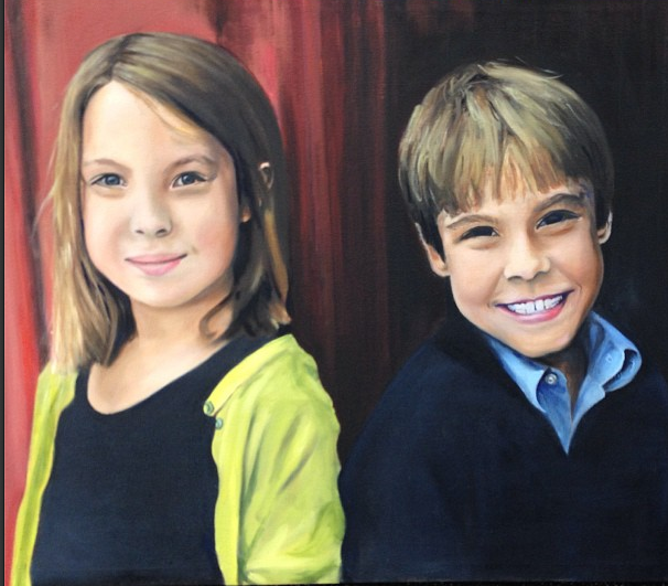 Yelton Children - SOLD - 24 x 30 | oil on canvas
