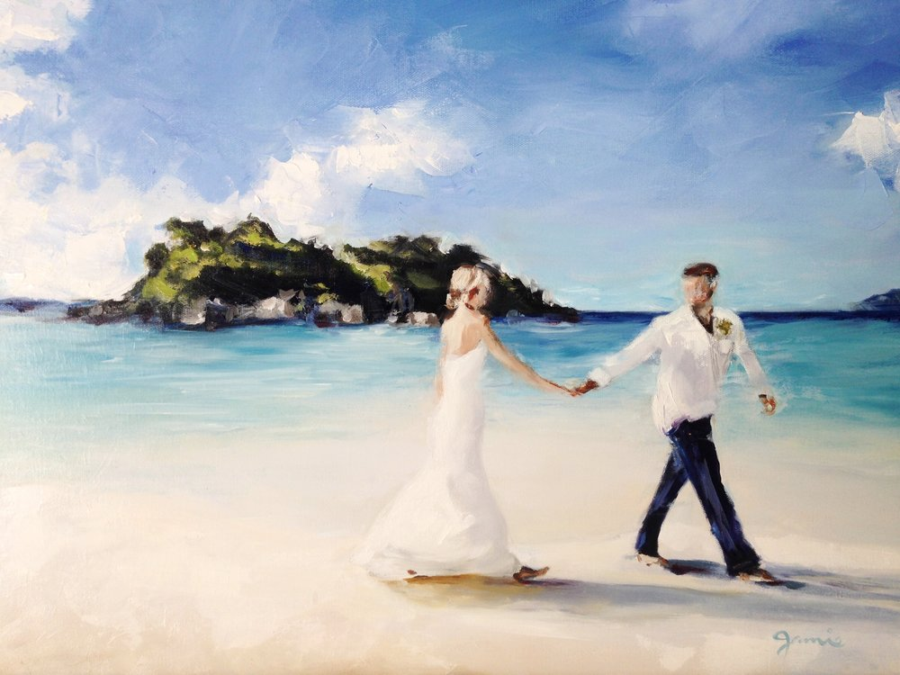 Honeymoon - SOLD - 16 x 24