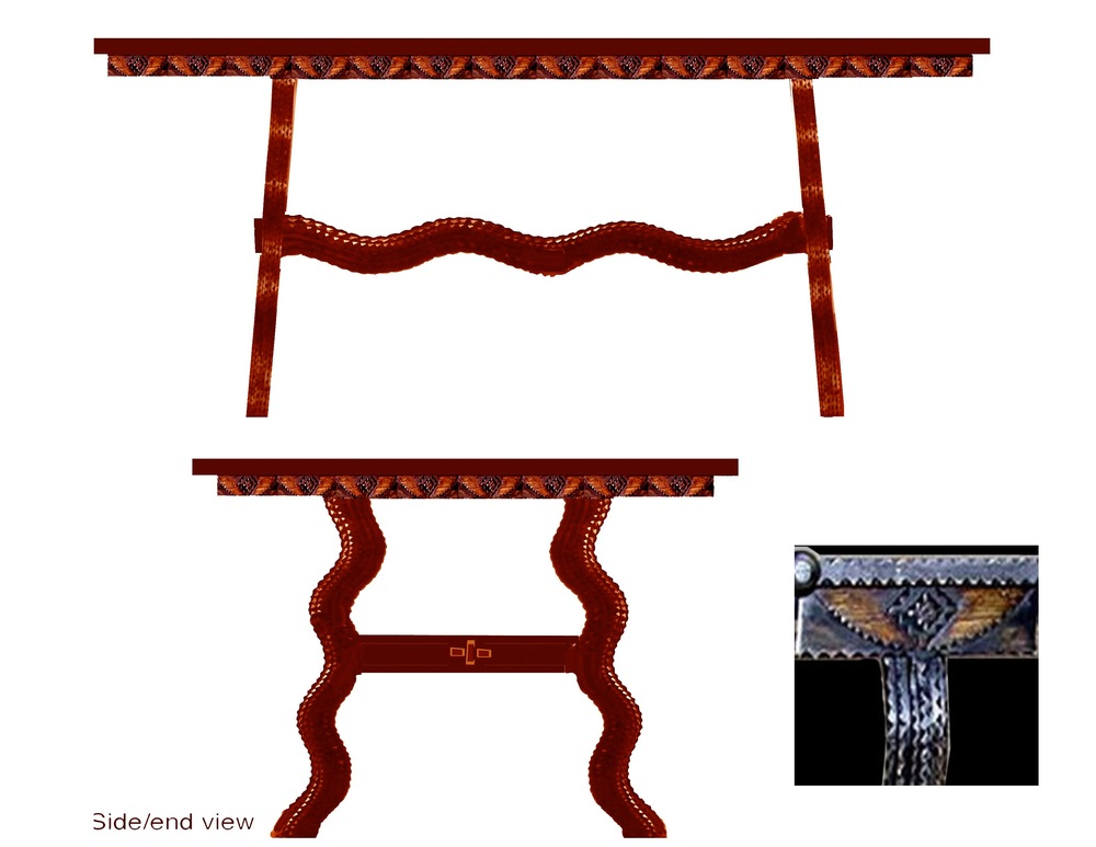 Cooper's table to scale w: skirt.jpg