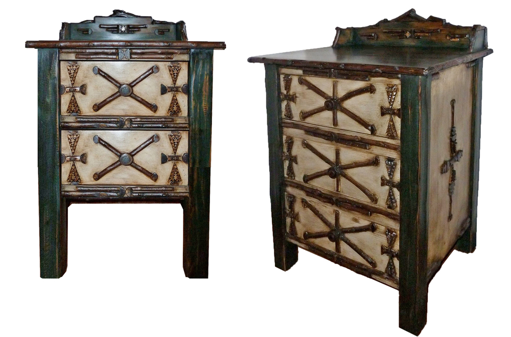 2-3 drawer Westwink Lodge style nightstands.jpg