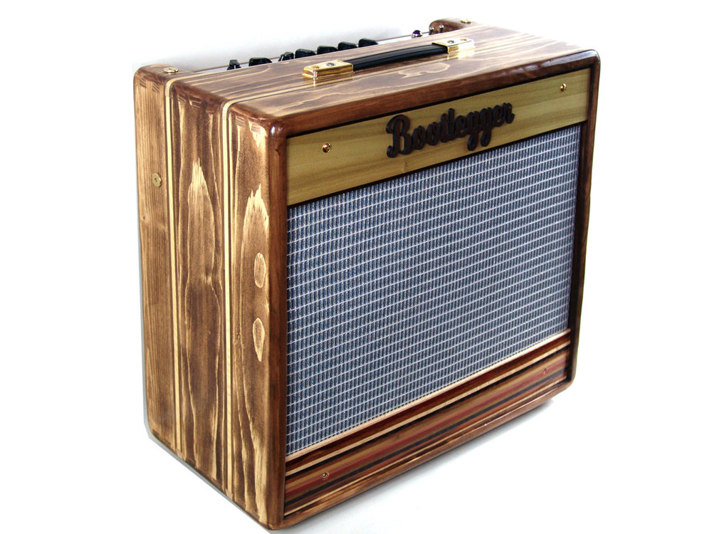 Bootlegger Blues 30 Guitar Tube Flame Maple Combo - $799