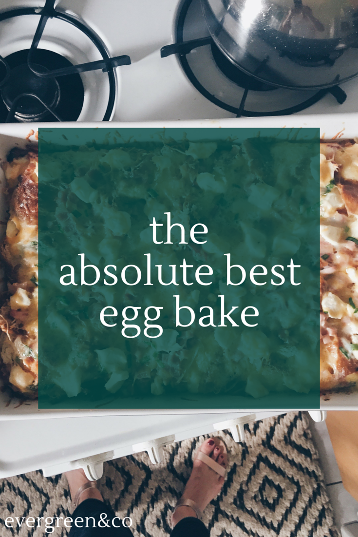 Seriously the BEST egg bake I've ever made.  Gets rave reviews every time!