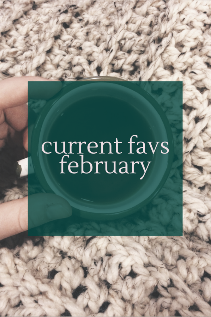 Current Favs: Feb 2015
