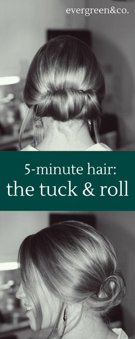 5-minute hair-the tuck & roll.jpg