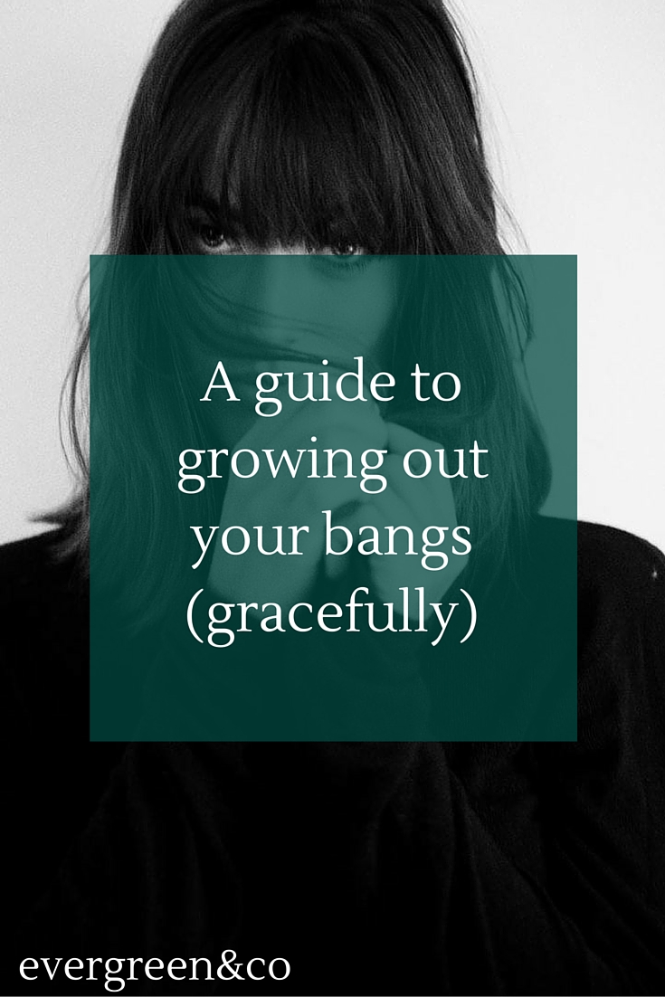 "The frustration of growing out your bangs is OVER! This article has great tips on how to get past that ""pesky in-between"" length."