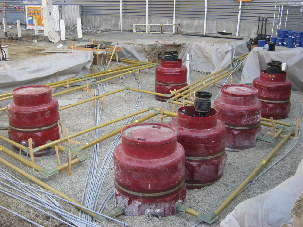 Underground FRP Piping System
