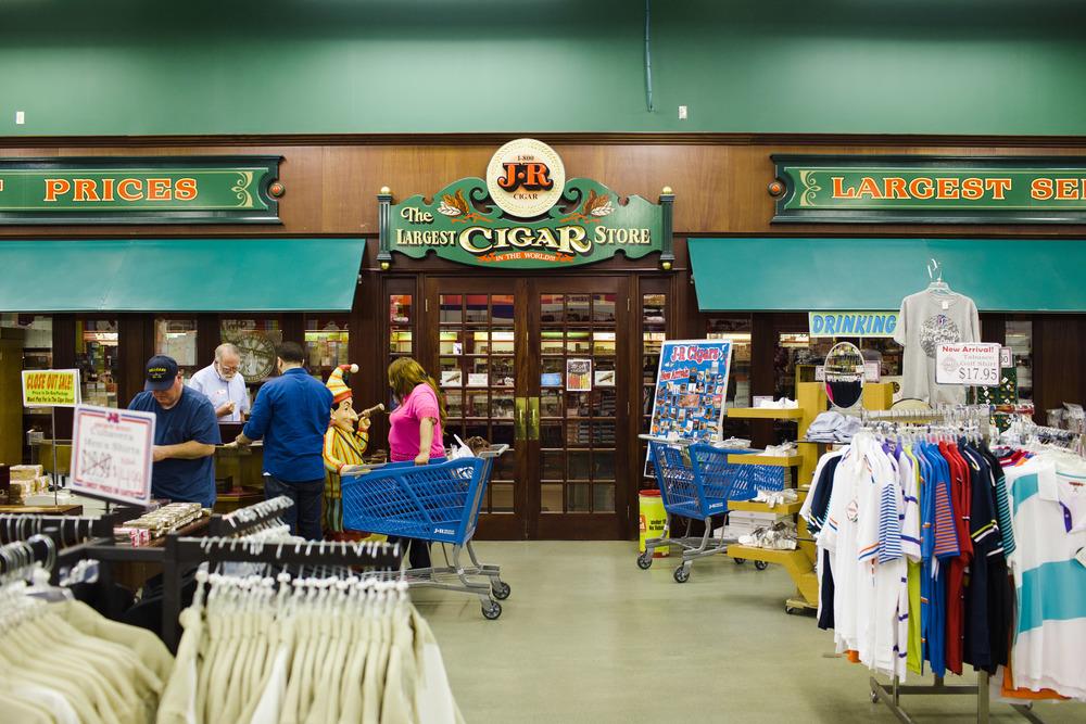 JR Cigar Store
