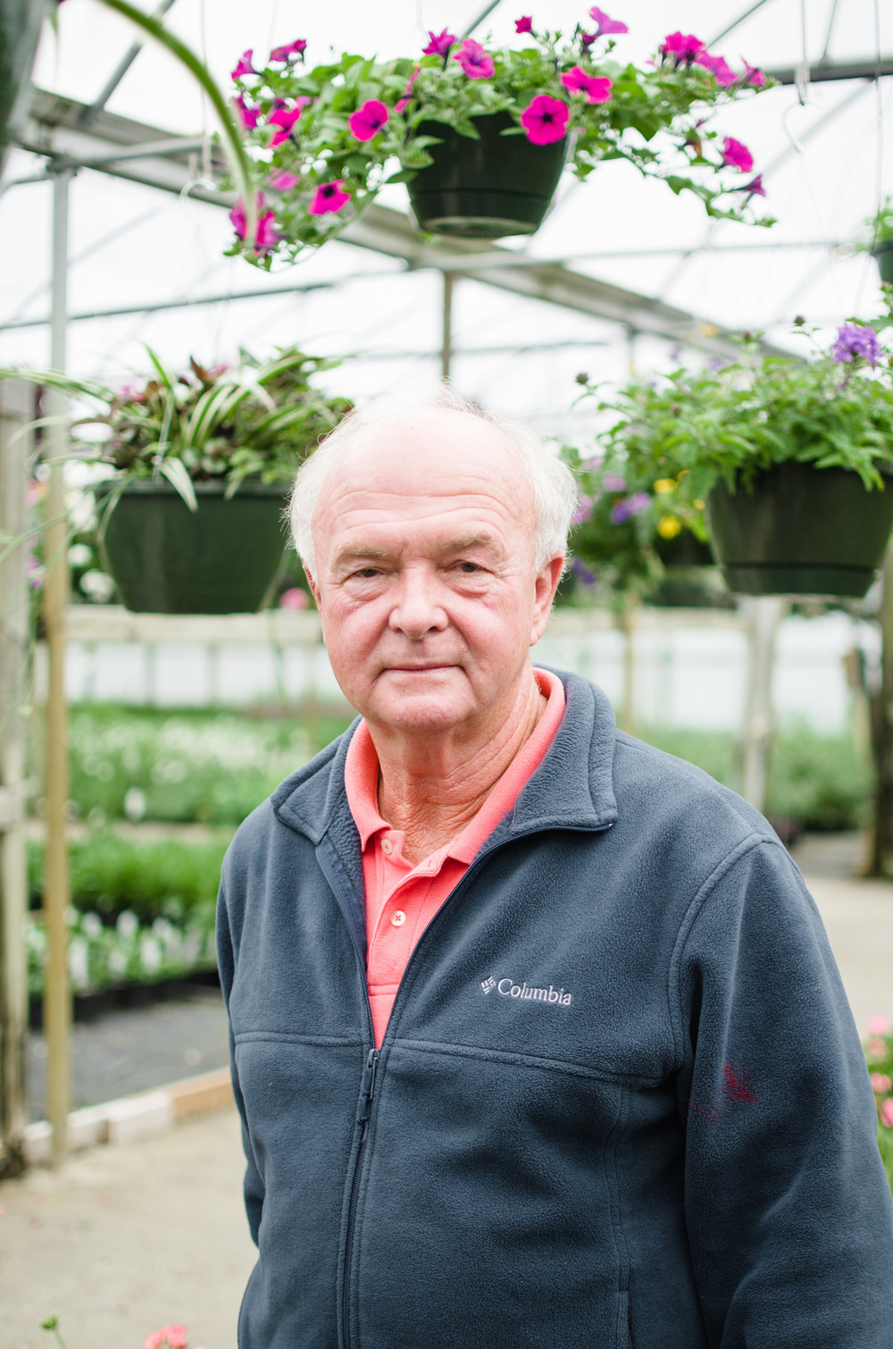 Larry Fish of Tarheel Nursery in Angier, NC.