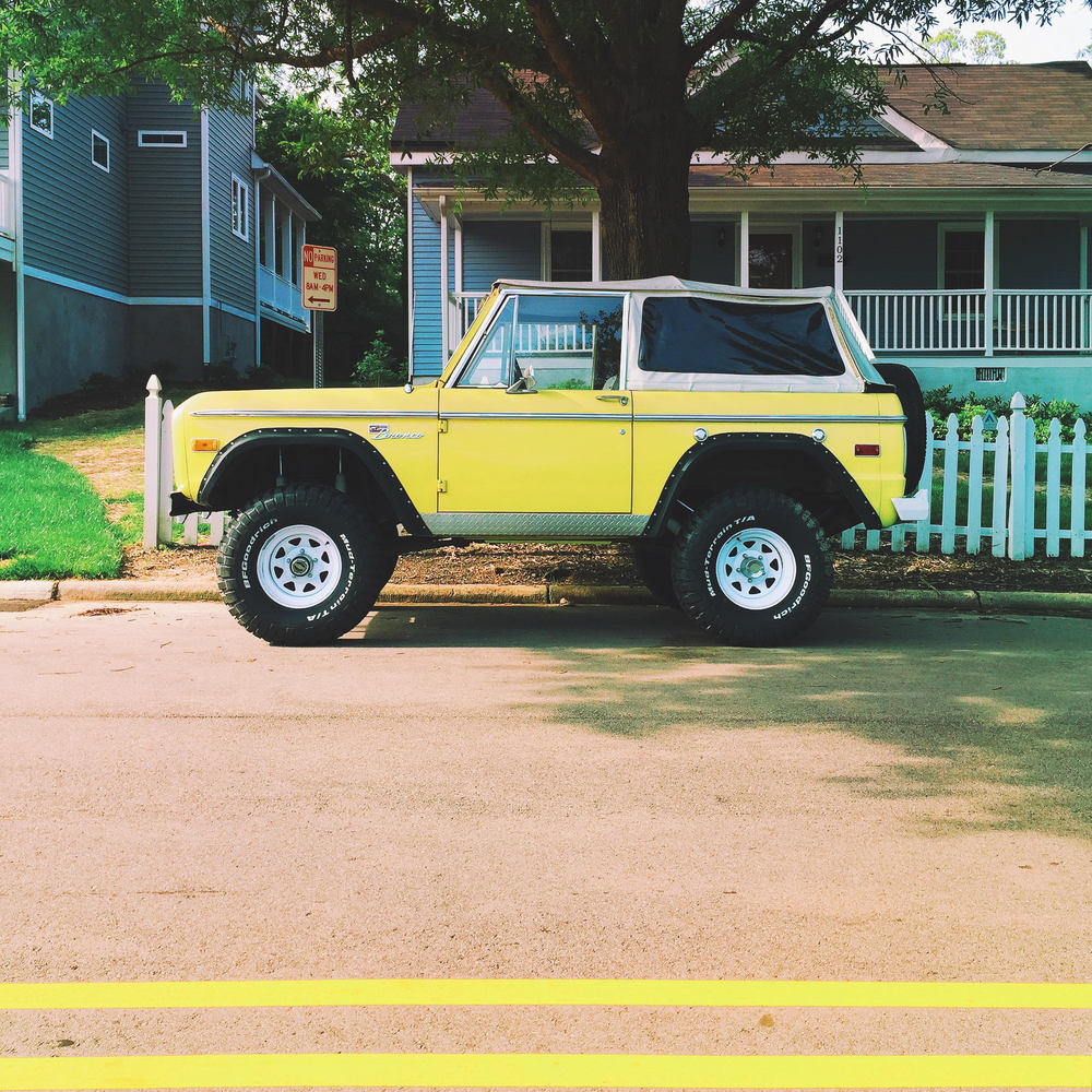 1980's Ford Bronco