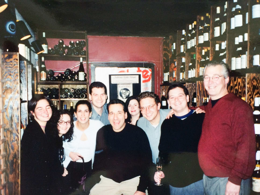 Windows on the World Staff at the restaurant's Christmas party in 2000