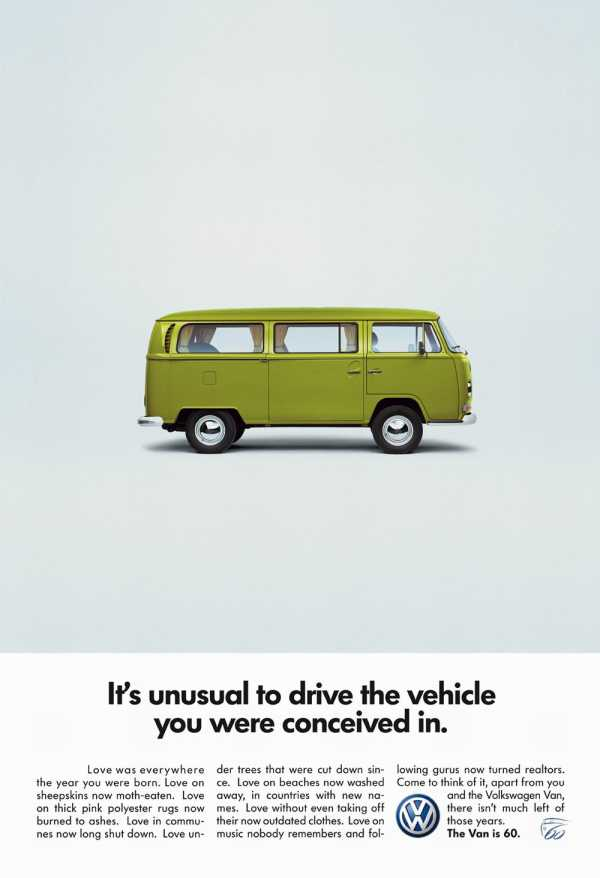 Volkswagen worked with a small ad agency to develop clever campaigns for the Beetle and the Bus, which contributed to the immense popularity of the cars in the United States.