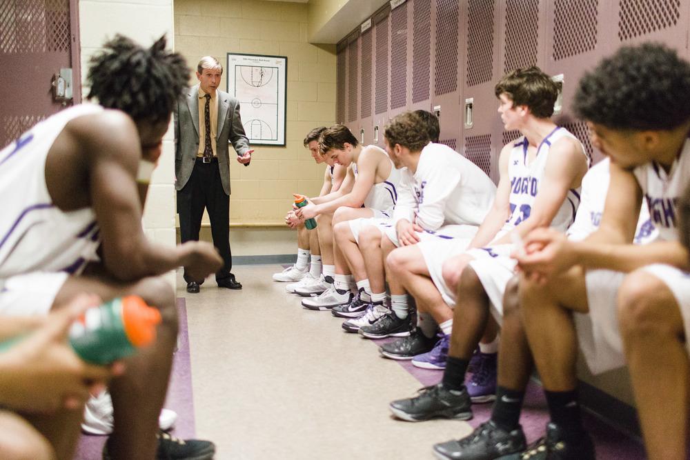 Coach Jeff Ferrell Broughton HS Basketball