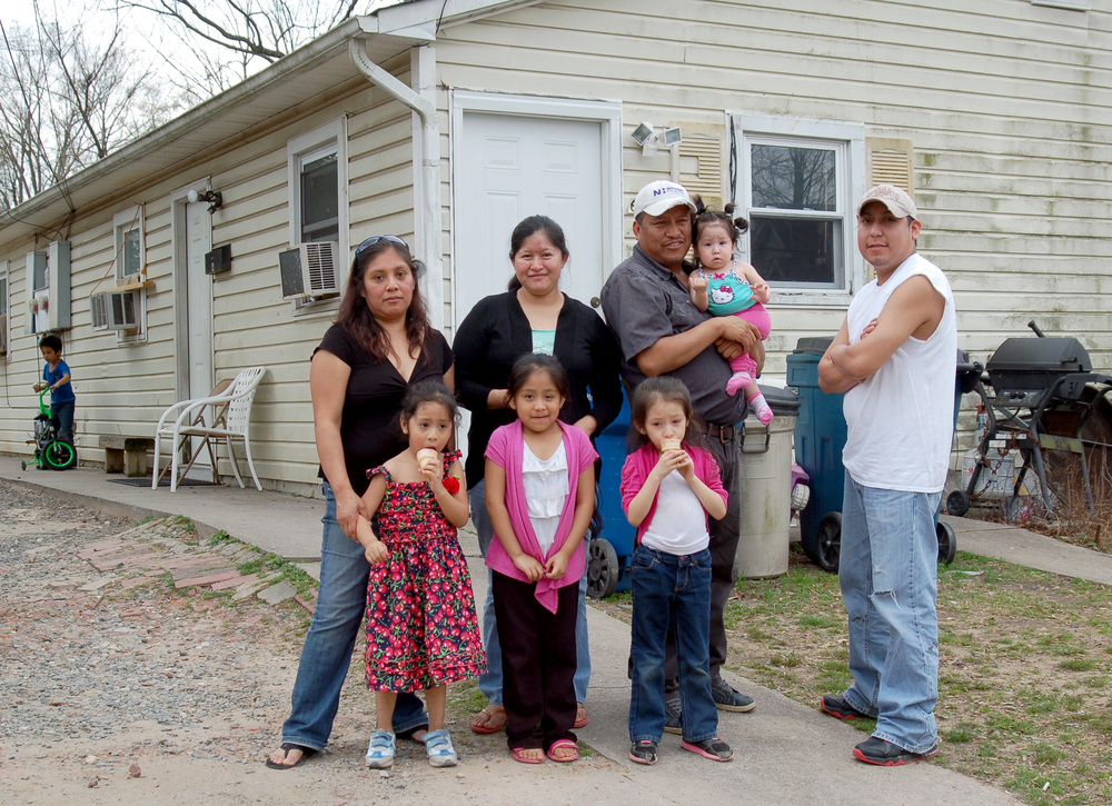 608 Primitive: Salomon Castillo, and extended family, renters since 1996