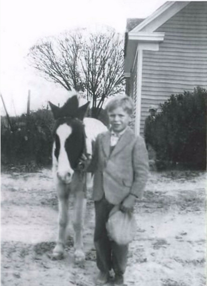 Robert as a young boy