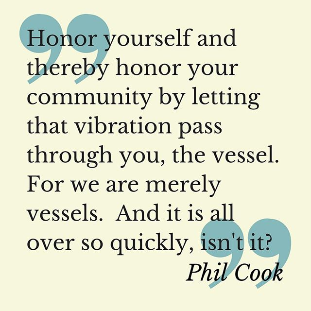 Amen, @philcookmusic. Catch him and his infinite wisdom Friday at the main stage at @artsplosure
