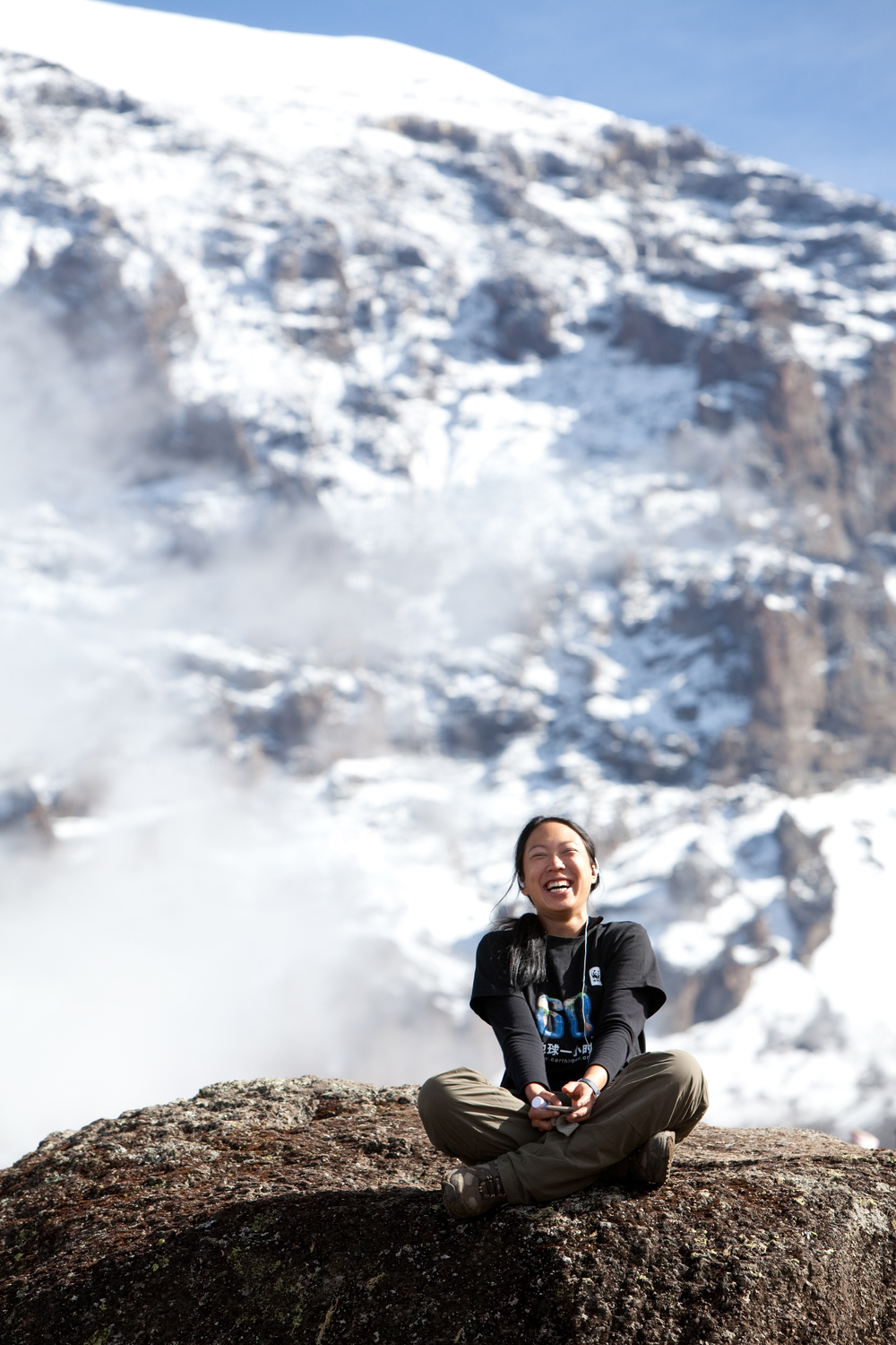 janice chia -  mountaineer and climate change campainger