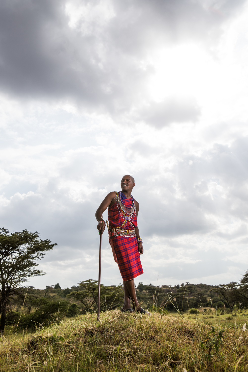 johnathan   maasai warrior