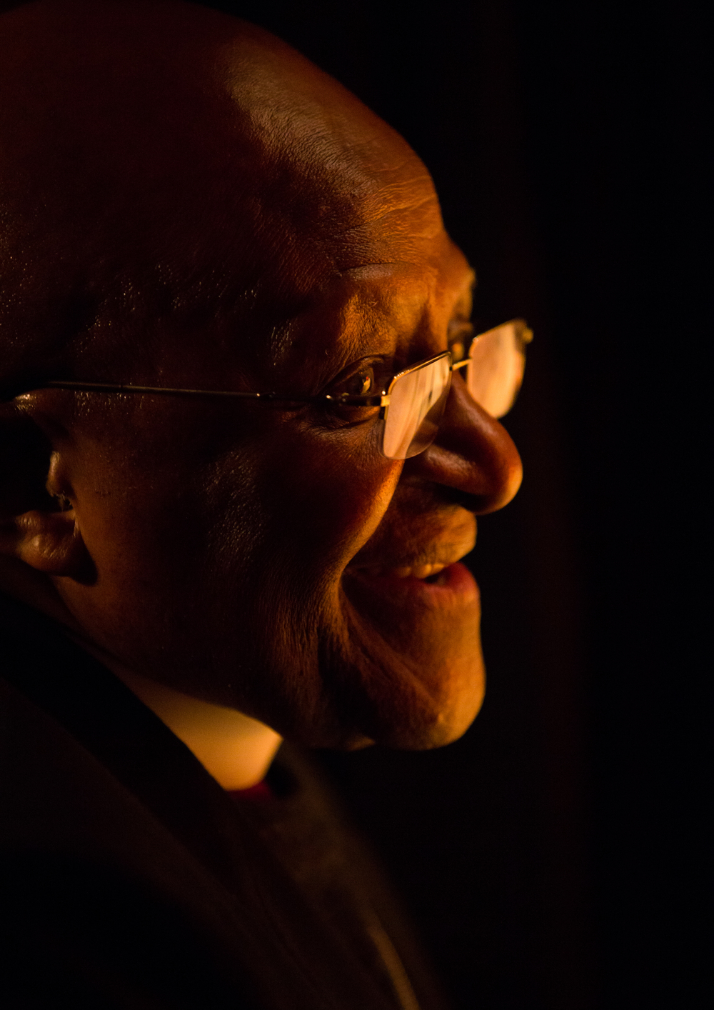 archbishop desmond tutu   the infectious smiler