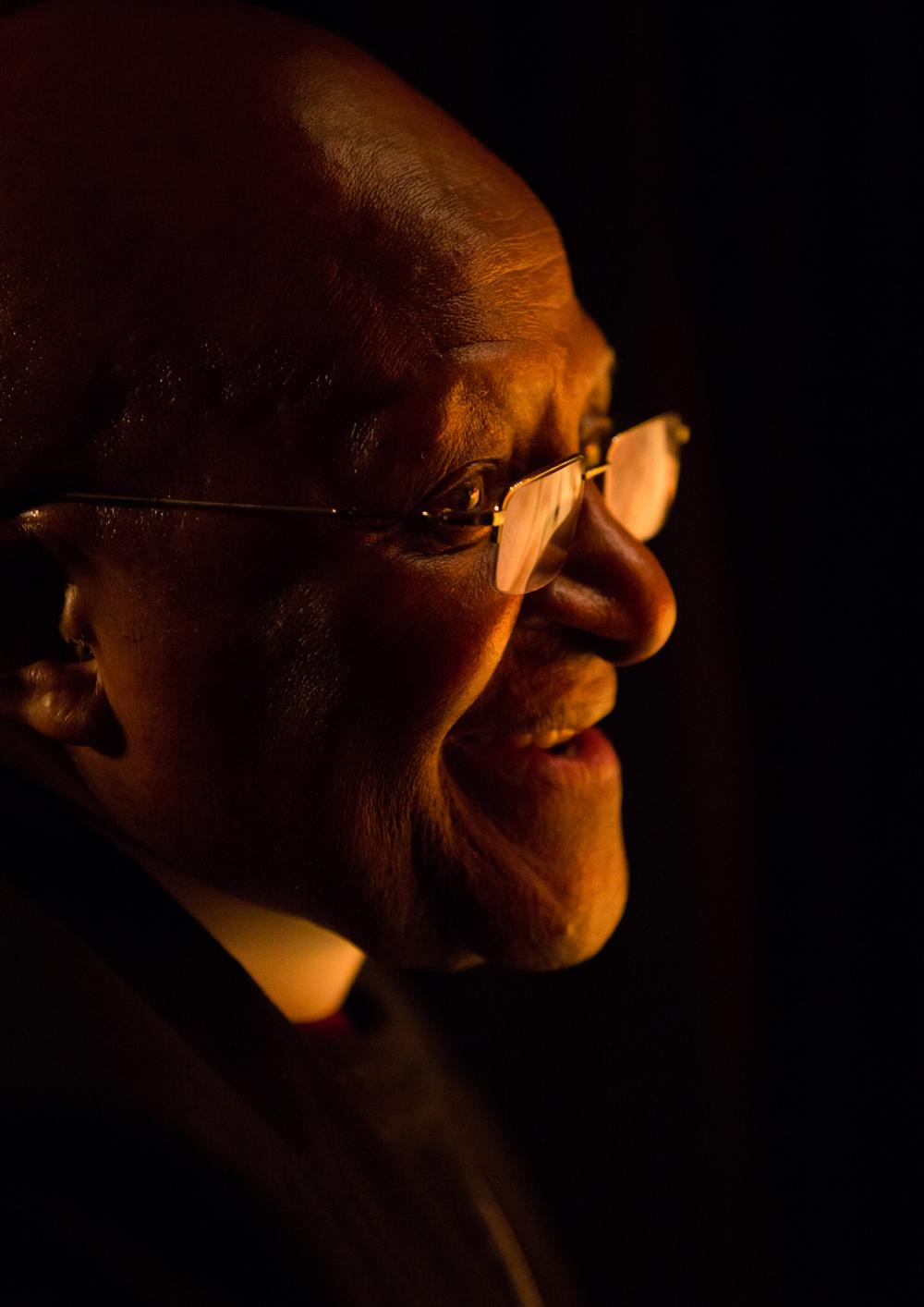 archbishop desmond tutu -  the infectious smiler