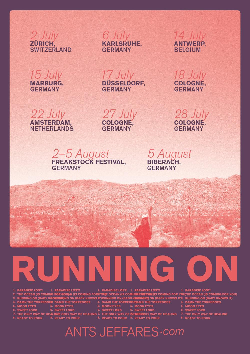 Ants Jeffares Running On Tour Poster.jpg