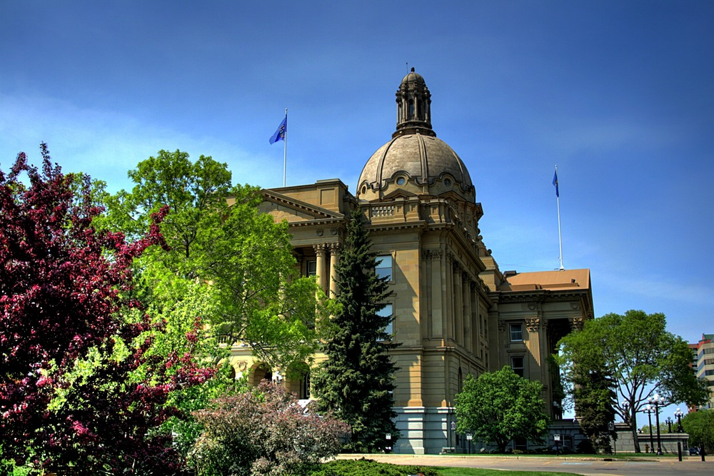 Legislature building, edmonton