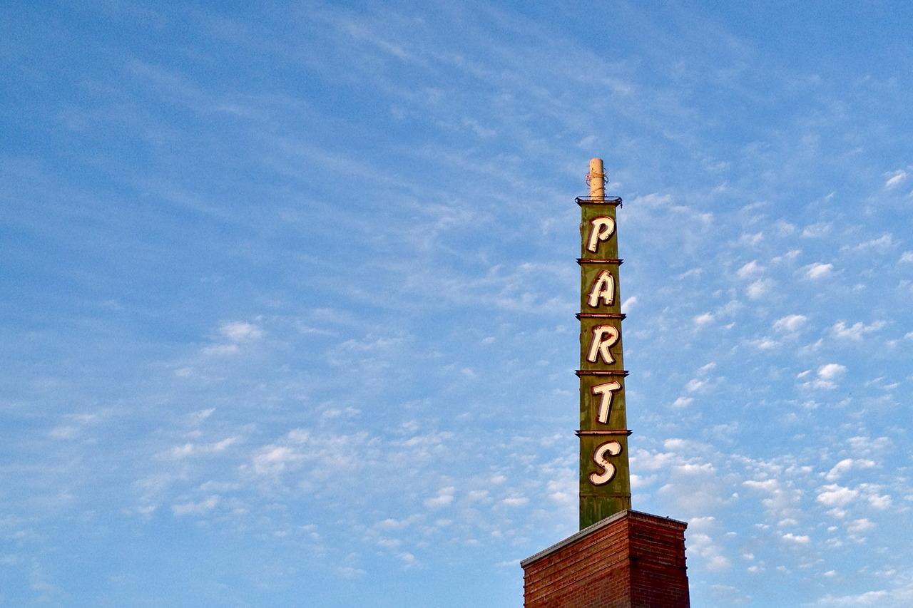 Parts, S. Cedar Street, Spokane, Washington.