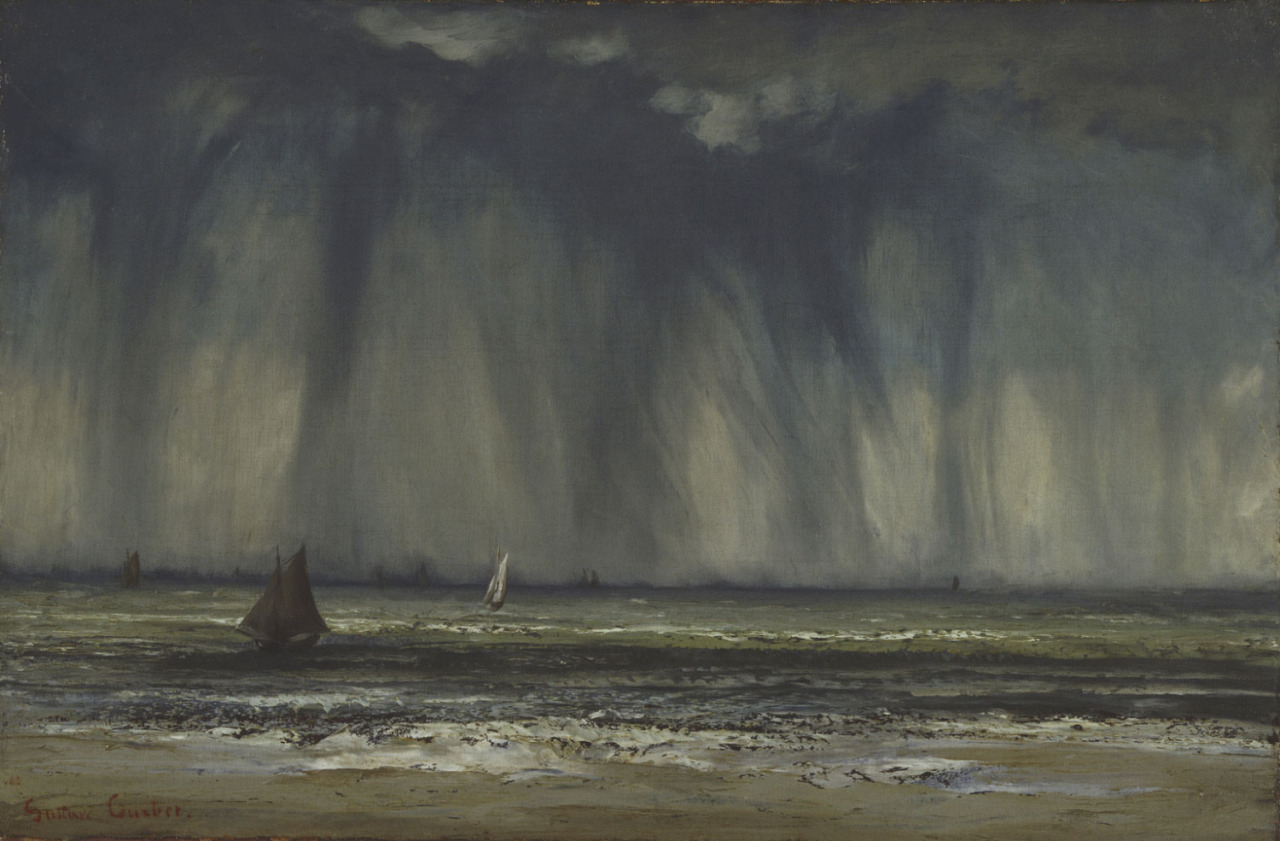 Marine ,  Gustave Courbet,   1866. Philadelphia Museum of Art.