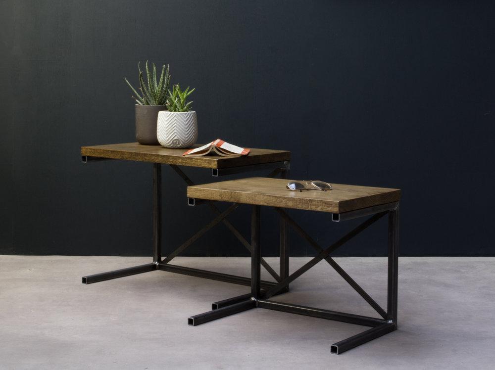 U0027Classicu0027 INDUSTRIAL Nesting Tables
