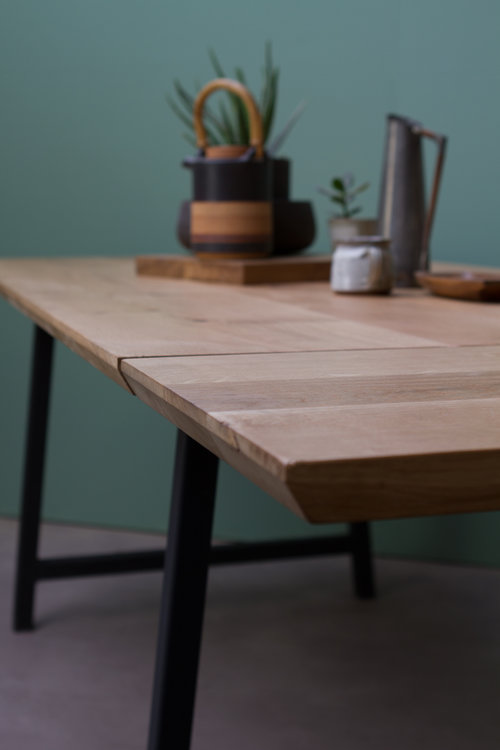 A Frame Dining Table Extendable