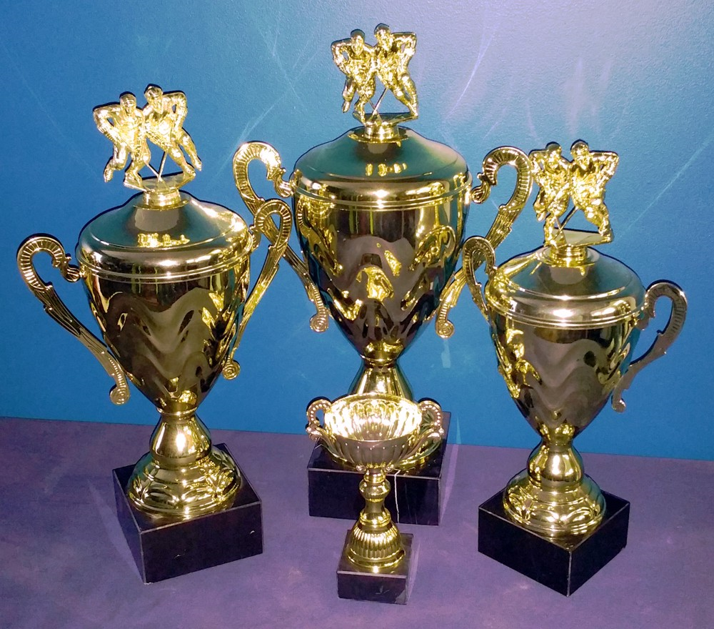 We can provide trophies for all of your sports needs