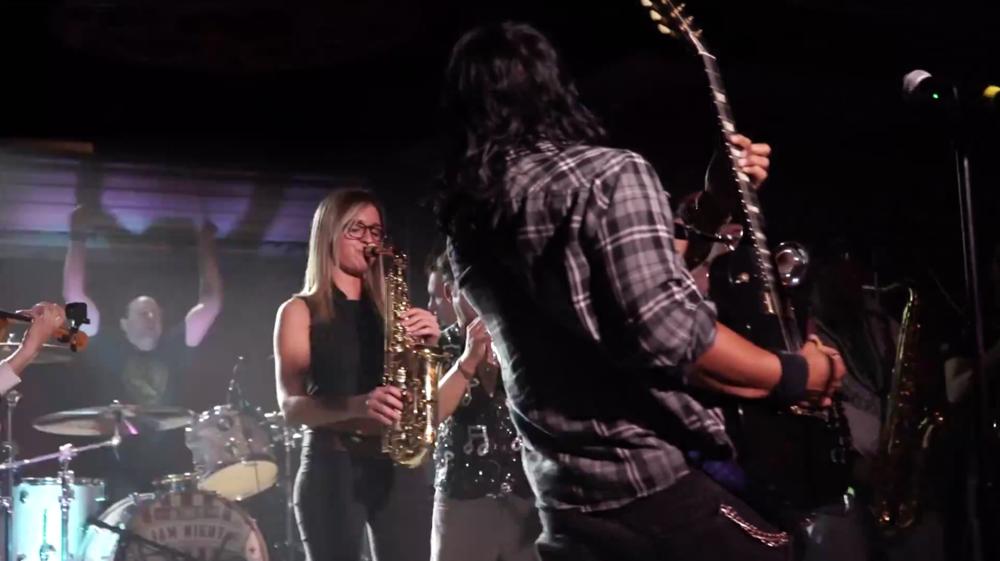 Lucky Strike Live Water Ino Mandy Faddis saxophone