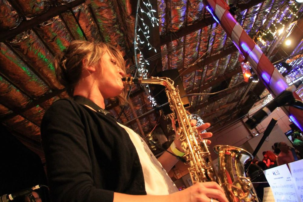 Pacific Mambo Orchestra and Mandy Faddis alto saxophone