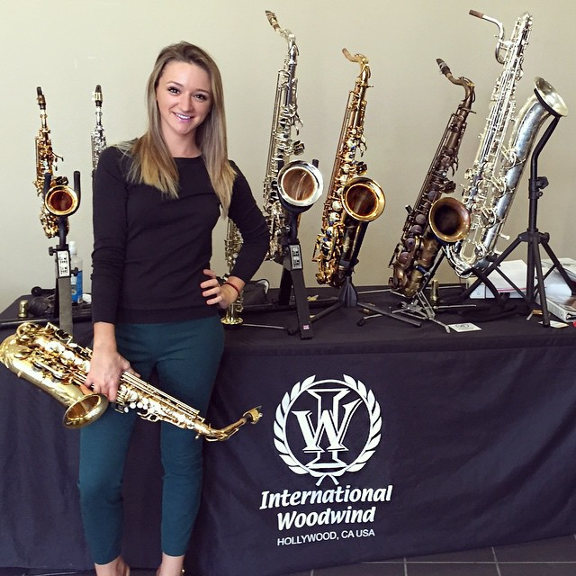 International Woodwind demonstration by Mandy Faddis