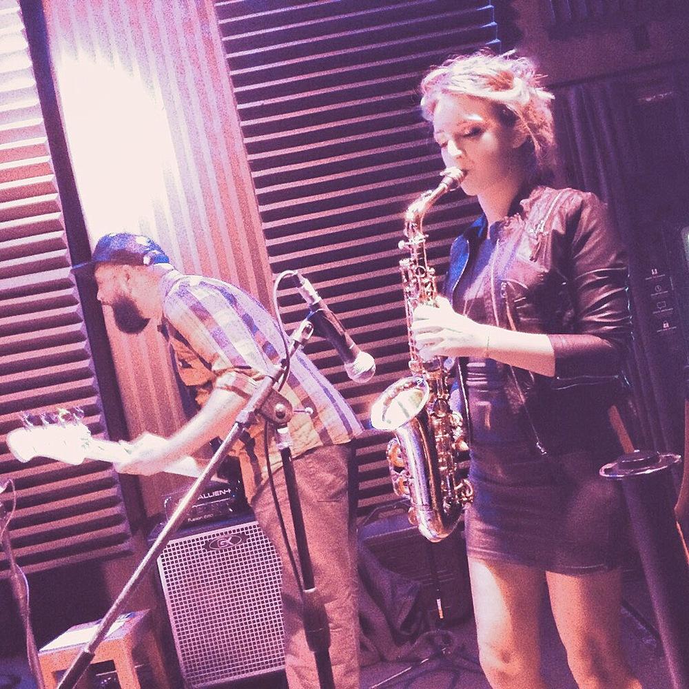 Sayers Club Frank Abraham Bass Mandy Faddis Saxophone