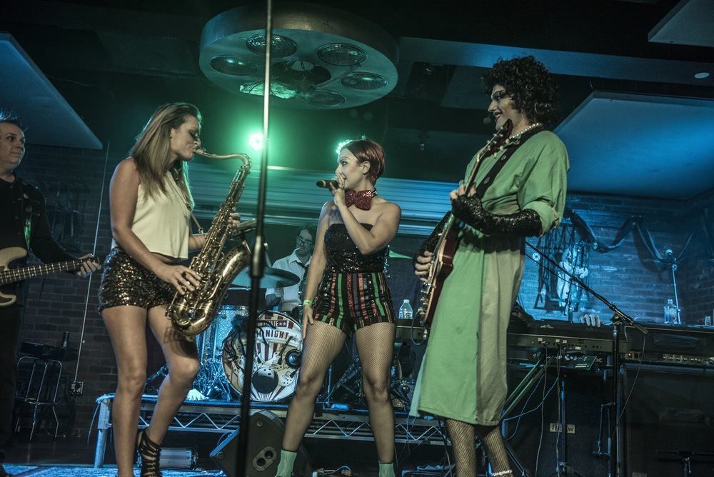 Rocky Horror Picture Show live saxophone Mandy Faddis Ultimate Jam Night
