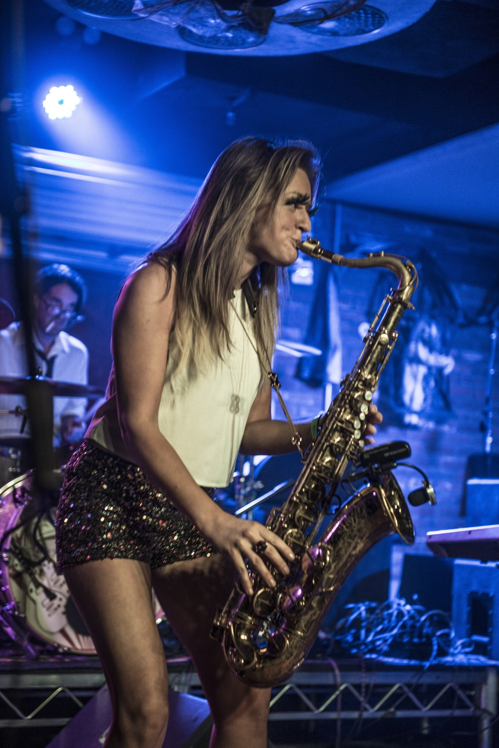 Los Angeles saxophonist Mandy Faddis Lucky Strike Live
