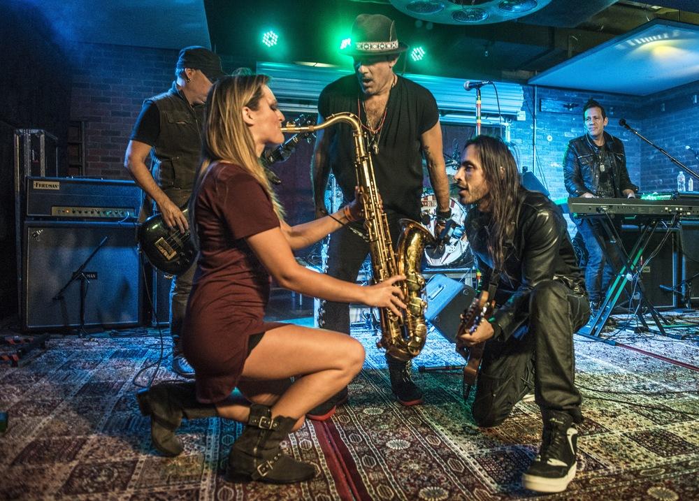 Lucky Strike Live Nuno Bettencourt Extreme Mandy Faddis Saxophone