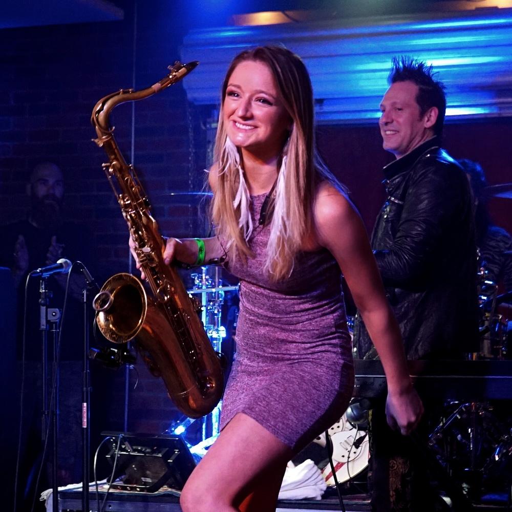 Lucky Strike Live Steve Ferlazzo Mandy Faddis Saxophone