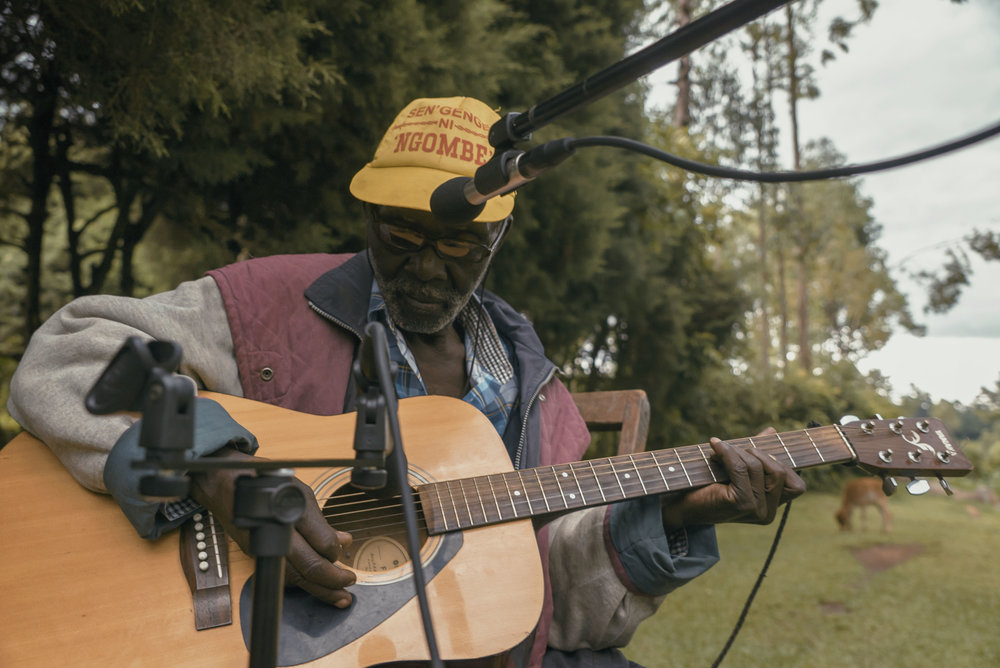 Shem Tube plays in his yard in Bunyore, Kenya May 2016