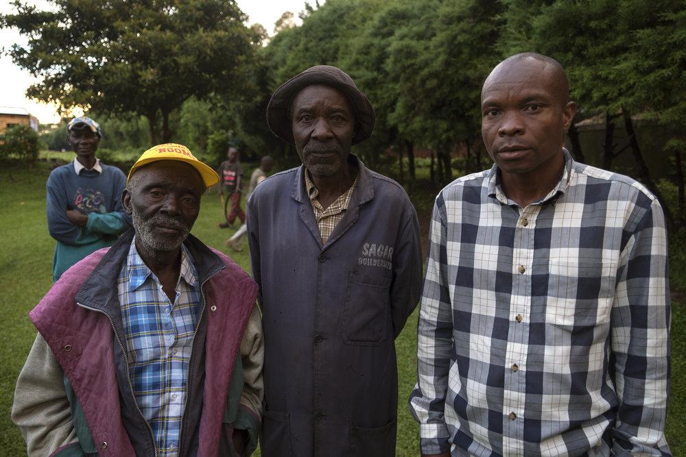 Shem Tube, Johanias, Naman Obuyi