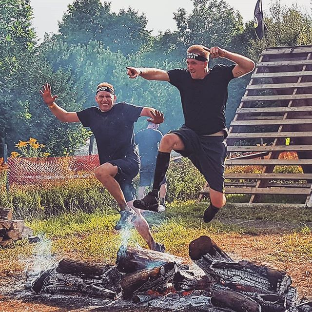 I had the honor and privilege to run beside my very good friend Jon Picard on Friday's Spartan Race! We trained hard, and completed the race without loss of life or limb! 🍻 #spartanrace